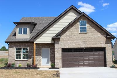 Rutherford County Single Family Home For Sale: 5503 Endurance Lane, Lot 73