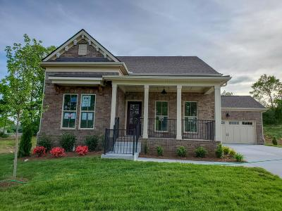 Mount Juliet Single Family Home For Sale: 430 Butler Road, Lot #230