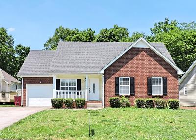 Clarksville Single Family Home For Sale: 1305 Southwood Ct