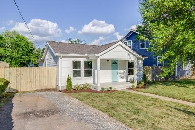 Nashville Single Family Home For Sale: 1724 23rd Ave N.