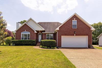 Goodlettsville Single Family Home For Sale: 156 Brookview Circle