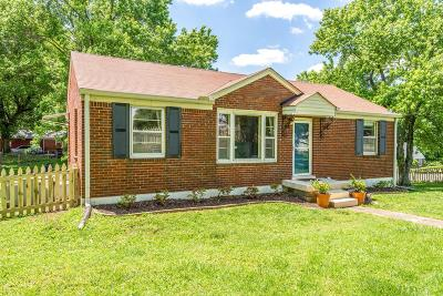 Nashville Single Family Home Active Under Contract: 129 Antioch Pike