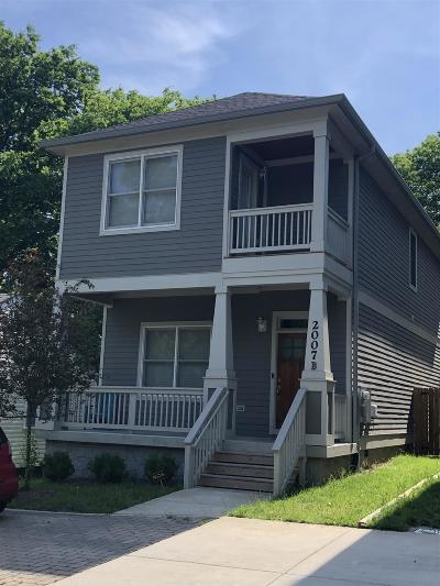 Nashville Single Family Home Active Under Contract: 508B Newton Ave