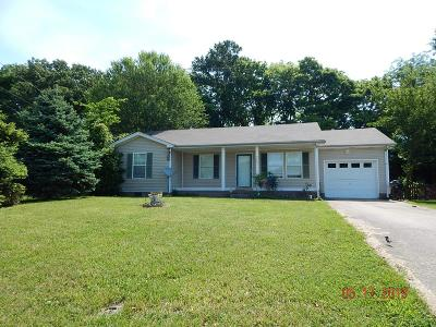 Clarksville Single Family Home For Sale: 3445 Sandpiper Dr