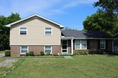 Hendersonville Single Family Home For Sale: 316 Donna Dr