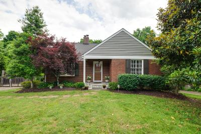 Nashville Single Family Home For Sale: 535 Skyview Dr