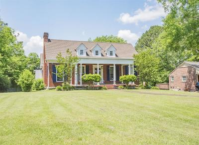 Shelbyville Single Family Home For Sale: 908 S S Brittain St