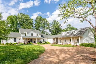 Franklin Single Family Home For Sale: 5292 Poor House Hollow Rd