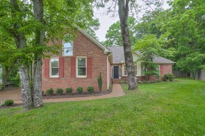 Nashville Single Family Home For Sale: 312 Chippewa Cir