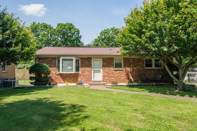 Clarksville TN Single Family Home For Sale: $159,950