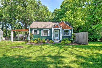 Nashville Single Family Home Active Under Contract: 96 Jay St