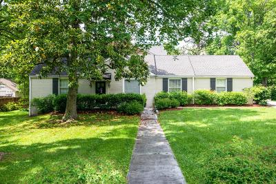Nashville Single Family Home For Sale: 4133 Outer Dr