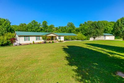 Franklin County Single Family Home For Sale: 587 Damron Rd