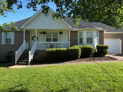Lebanon, Mount Juliet, Mt Juliet, Mt. Juliet, Old Hickory Single Family Home Under Contract - Not Showing: 603 Cahaba Court