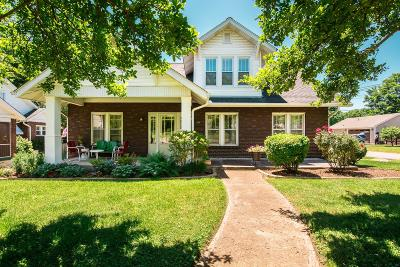 East Nashville Single Family Home Under Contract - Showing: 1300 McChesney Ave