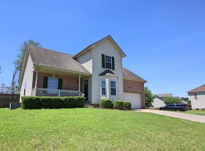 Clarksville Single Family Home For Sale: 3267 Veranda Cir