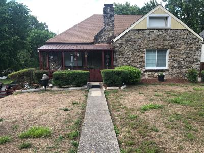 Nashville Single Family Home For Sale: 1213 Stratford Ave