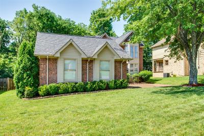 Nashville Single Family Home For Sale: 7021 Poplar Creek Trace