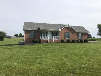 Robertson County Single Family Home For Sale: 4008 Pleasant Grove Rd
