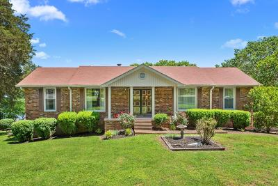 Gallatin Single Family Home For Sale: 1016 Edgewater Cir