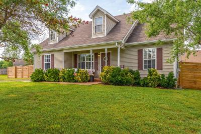 Murfreesboro Single Family Home Under Contract - Showing: 3509 Persimmon Cir