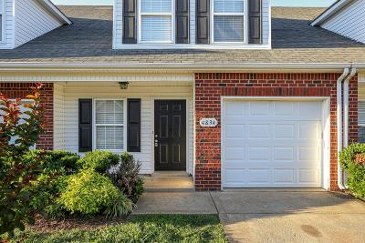 Murfreesboro Condo/Townhouse For Sale: 4834 Chelanie Cir
