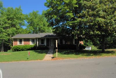 Shelbyville Single Family Home For Sale: 1002 Dow Dr