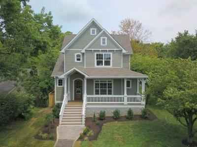 Nashville Single Family Home Under Contract - Not Showing: 4300 Nevada Ave