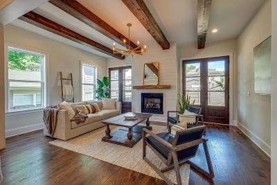 Nashville Single Family Home For Sale: 1008 B Villa Pl