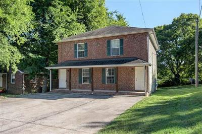 Christian County, Ky, Todd County, Ky, Montgomery County Rental For Rent: 916 Charlotte St. #a #A
