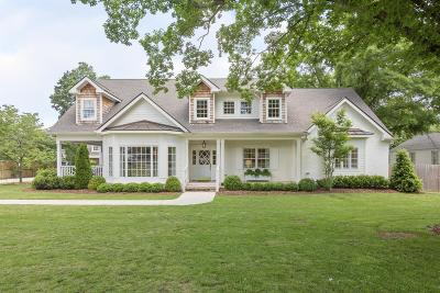 Nashville Single Family Home Under Contract - Not Showing: 130 Brookfield Ave