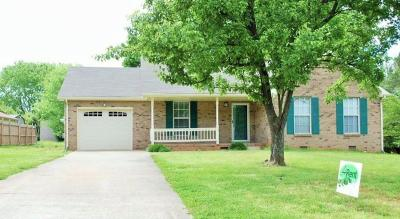 Christian County, Ky, Todd County, Ky, Montgomery County Rental For Rent: 310 Hillman Drive