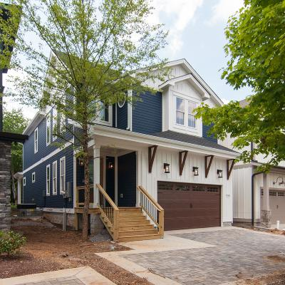 Nashville Single Family Home For Sale: 906 A Riverside Dr