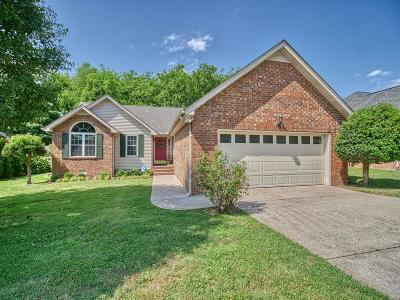 Mount Juliet Single Family Home For Sale: 504 Creek Pt