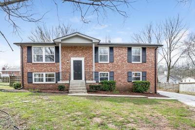 Mount Juliet Single Family Home For Sale: 7846 Saundersville Rd
