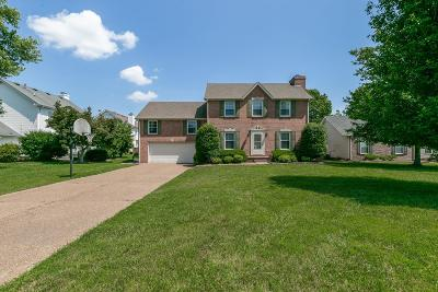 Spring Hill Single Family Home For Sale: 1804 Elizabeth Ct
