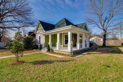 Nashville Single Family Home For Sale: 4600 Nevada Ave