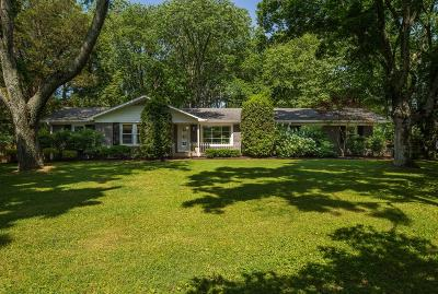 Nashville Single Family Home For Sale: 5377 Trousdale Dr