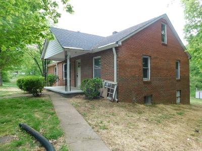 Clarksville Single Family Home For Sale: 261 Caldwell Ln