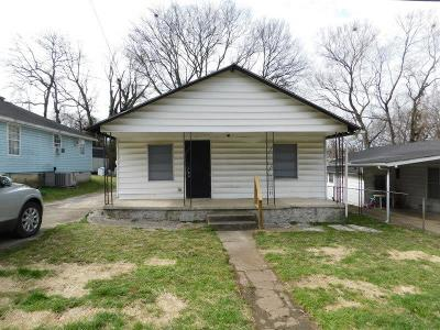 Christian County, Ky, Todd County, Ky, Montgomery County Single Family Home For Sale: 310 Glenn St
