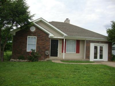 Christian County, Ky, Todd County, Ky, Montgomery County Rental For Rent: 95 Grassmire