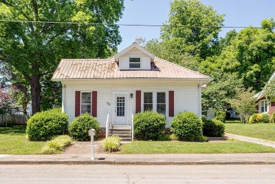 Winchester Single Family Home For Sale: 307 N Jefferson St