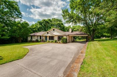Brentwood Single Family Home Active Under Contract: 5844 Cloverland Dr