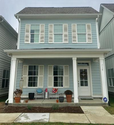 East Nashville Single Family Home Under Contract - Not Showing: 718 Cottage Park Dr