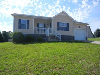 Christian County, Ky, Todd County, Ky, Montgomery County Rental For Rent: 1491 McClardy Road