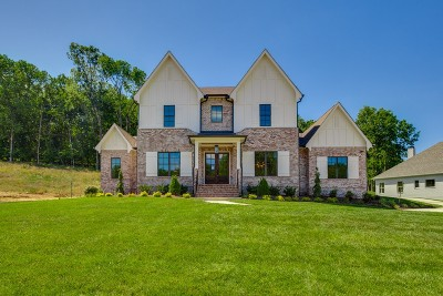 Williamson County Single Family Home For Sale: 1753 Umbria Drive, Lot 119