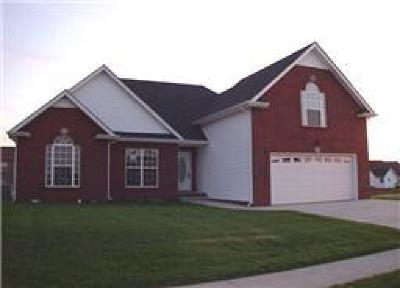 Christian County, Ky, Todd County, Ky, Montgomery County Rental For Rent: 1180 Meadow Knoll Lane