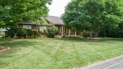 Murfreesboro Single Family Home For Sale: 2402 Long Meadow Dr