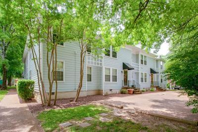 Nashville Condo/Townhouse For Sale: 2135 Acklen Ave # 8