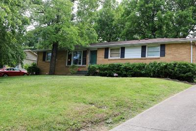 Nashville Single Family Home Under Contract - Showing: 3209 Leswood Ln